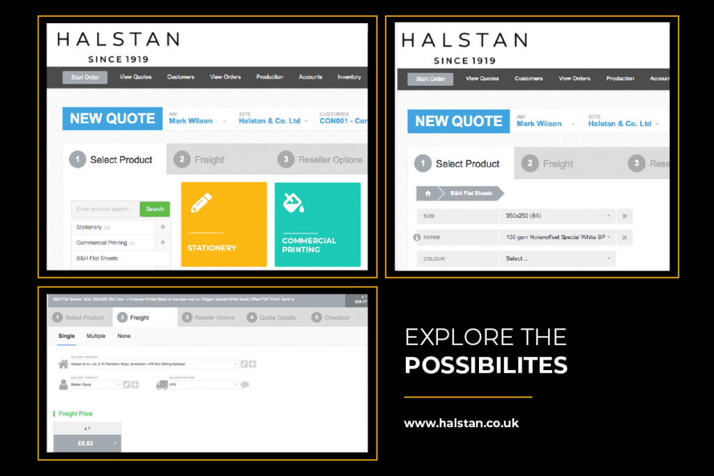 Halstan online portal